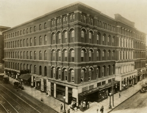 The old Maxwell House Hotel. Photo courtesy of Tennessee.gov.