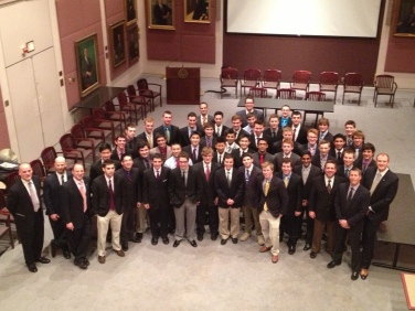 Gamma Beta induction ceremony