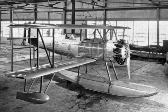 O2U-1_Corsair_in_hangar_at_NACA_Langley_in_1928_low res