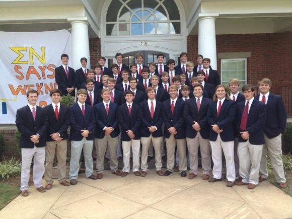 Auburn fall 2013 candidate class