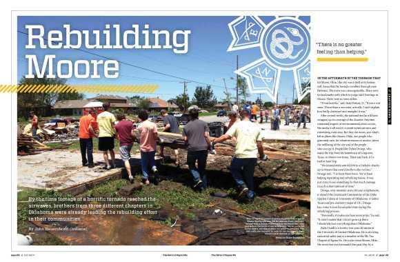 Rebuilding Moore spread