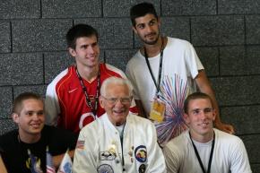 Malarkey with Oregon chapter members