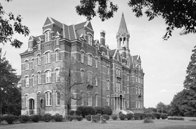Fisk University was founded in 1866 and is one of the nation's oldest historically black colleges. Image courtesy of Historic American Buildings Survey