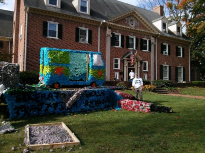 Penn State Homecoming Float