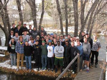Brotherhood Retreat_Delta Rho_Michael Psaltis_Winter 2014