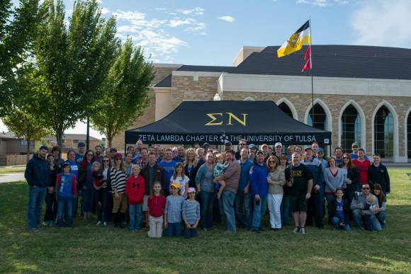 Over 100 Zeta Lambda alumni and their family members gathered for the 7th consecutive reunion on October 18th.