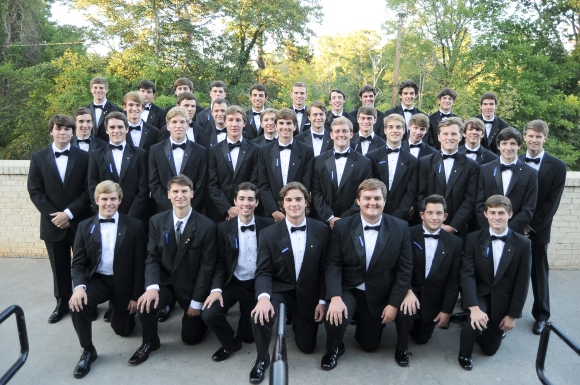 Mu Chapter's Fall 2014 candidate class.