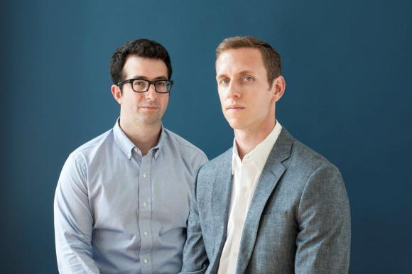 "The partnership between Andy Katz-Mayfield (Duke), right, and Jeff Raider was a natural fit after they met interning at the same Boston management consulting firm. They worked together at several companies and shared similar passions for designing quality products. ""We have a very strong value alignment,"" says Katz-Mayfield."