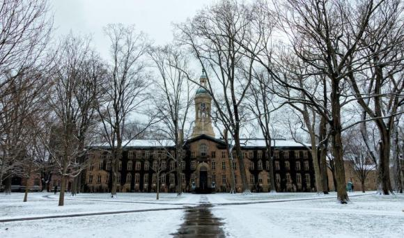 Nassau Hall on the campus of Princeton University. Photo courtesy of Flickr user James Loesch.